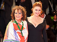 Claudia Cardinale and Susan Sarandon at the premiere of the film The Leisure Seeker (Ella & John) at the 74th Venice Film Festival, Sala Grande on Sunday 3 September 2017, Venice Lido, Italy.