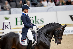 ISACHKINA Regina (RUS), Sun of may life<br /> Göteborg - Gothenburg Horse Show 2019 <br /> FEI Dressage World Cup™ Final I<br /> Int. dressage competition - Grand Prix de Dressage<br /> Longines FEI Jumping World Cup™ Final and FEI Dressage World Cup™ Final<br /> 05. April 2019<br /> © www.sportfotos-lafrentz.de/Stefan Lafrentz