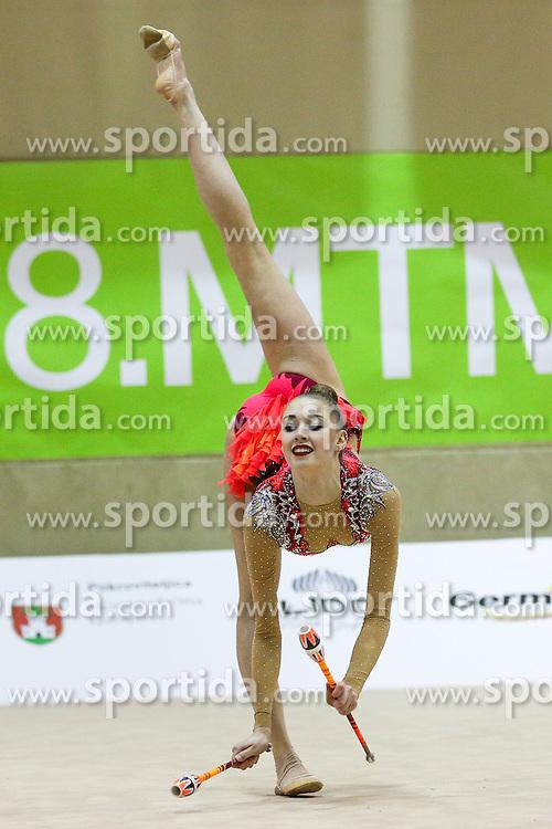 Maria Titova of Russia competes during 28th MTM - International tournament in rhythmic gymnastics Ljubljana, on April 4, 2015 in Arena Krim, Ljubljana, Slovenia. Photo by Matic Klansek Velej / Sportida
