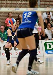 12-04-2014 NED: Finale vv Alterno - Sliedrecht Sport, Apeldoorn<br /> Alterno pakt het kampioenschap door Sliedrecht voor de derde maal te verslaan / Bianca Gommans