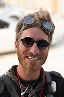 There is a correlation between how organized your shit is and how nice gate is to you. He appeared to be very pleased with us. My Burning Man 2018 Photos:<br />