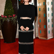 Jessie Buckley Arrivers at EE British Academy Film Awards in 2019 after-party dinner at Grosvenor house on 10 Feb 2019.