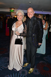 DENISE WELCH and LINCOLN TOWNLEY at The Butterfly Ball in aid of Caudwell Children held at the Grosvenor House, Park Lane, London on 25th June 2015