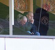 United manager Mixu Paatelainen watches Dundee United v Dundee, 'Wee derby' in the SPFL Development League at Tannadice<br /> <br /> <br />  - &copy; David Young - www.davidyoungphoto.co.uk - email: davidyoungphoto@gmail.com