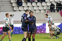 December 8, 2017 - Paris, France, France - Joie de Yobo (Stade Francais) et Martial  (Credit Image: © Panoramic via ZUMA Press)