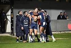 February 23, 2019 - Perpignan, France - Essai et joie Leo Berdeu  (Credit Image: © Panoramic via ZUMA Press)