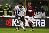 """Diego Milito Inter<br /> Bologna 28/10/2012 Stadio """"Dallara""""<br /> Football Calcio Serie A 2012/13<br /> Bologna v Inter<br /> Foto Insidefoto Paolo Nucci"""
