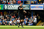 Referee Dean Whitestone during the EFL Sky Bet League 1 match between Portsmouth and Bradford City at Fratton Park, Portsmouth, England on 28 October 2017. Photo by Graham Hunt.