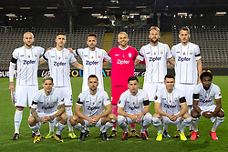 12.03.2020, Stadion der Stadt Linz, Linz, AUT, UEFA EL, LASK vs Manchester United, Achtelfinale, im Bild v.l. 1. Reihe, Dominik Frieser (LASK), James Holland (LASK), Peter Michorl (LASK), Dominik Reiter (LASK), Samuel Tetteh (LASK Linz). 2. Reihe v.l. Gernot Trauner (LASK Linz), Reinhold Ranftl (LASK), Rene Renner (LASK), Tormann Alexander Schlager (LASK), Joao Klauss de Mello (LASK), Christian Ramsebner (LASK) // during the UEFA Europa League round of last 16 match between LASK and Manchester United at the Stadion der Stadt Linz in Linz, Austria on 2020/03/12. EXPA Pictures © 2020, PhotoCredit: EXPA/ Reinhard Eisenbauer