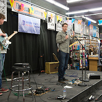 Boise State Public Radio and The Record Exchange kick off theTreefort Music Festival with special guest, Madeline Kenney,  Allison Corona photo