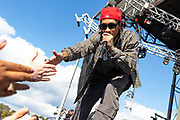 Tyga performs during Clubhouse Festival 2018 at Laurel Park in Laurel, MD on Saturday, October 20, 2018.