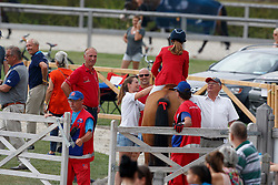 De Hornois Caro-Belle, BEL, Idyllis L<br /> Children European Championships Jumping <br /> Samorin 2017© Hippo Foto - Dirk Caremans<br /> 10/08/2017