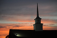 second baptist sunset