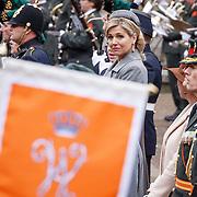 NLD/Den Haag/20160315 - Uitreiking Militaire Willemsorde aan Korps Commando Troepen, Maxima en haar vaandel