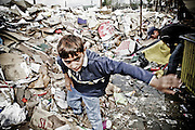 The Garbage Gang<br /> Kosovo, September 2008)<br /> <br /> In the outskirts of the Kosovar city of Gjakova (Djakovica in Serbian), a group of Roma kids live with their families in a slum built over a garbage dump. Moved after the war, they survive by sorting through and selling recyclable trash. Neither Kosovar or Serbian, this ethnic group has always been shunned. These Roma children only know life in the dump, a poisoned and diseased playground.