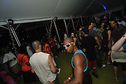 People dancing, partying, and have a good time at Lee Jones's open air Sundae dance party in 2009. This weekly event is held at the the Piazza at Schmidt's in Northern Liberties in Philadelphia each Sunday and at Octo 221 N. Columbus Blvd. in the event of rain. This photo is from Lee Jone's 61st birthday party. Jay J was the guest DJ.