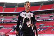 AFC Wimbledon defender Paul Robinson (6) walking off pitch during the The FA Cup 3rd round match between Tottenham Hotspur and AFC Wimbledon at Wembley Stadium, London, England on 7 January 2018. Photo by Matthew Redman.