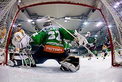Jan Chabera (HDD Tilia Olimpija, #32) during ice-hockey match between HDD Tilia Olimpija and Moser Medical Graz 99ers in 21st Round of EBEL league, on November 21, 2010 at Hala Tivoli, Ljubljana, Slovenia. (Photo By Matic Klansek Velej / Sportida.com)