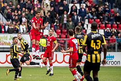 11-03-2018 NED: FC Utrecht - Vitesse, Utrecht<br /> Utrecht verslaat met 5-1 Vitesse / Ramon Leeuwin #3 of FC Utrecht