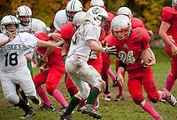 Laconia Middle School football versus Merrimack Valley Huskies October 22, 2011.