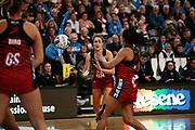 Tactix player Brooke Leaver in action during the Southern Steel v Mainland Tactix, ANZ Netball Premiership, Edgar Centre, Dunedin, New Zealand. June 24, 2018. Copyright Image: Derek Morrison / www.photosport.nz
