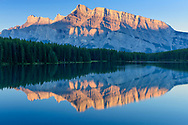 North America, Canada, Canadian,Alberta, Rocky Mountains, Banff National Park, UNESCO, World Heritage, Two Jack Lake