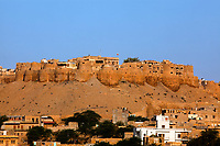 Jaisalmer City Fort in rajasthan state in indi