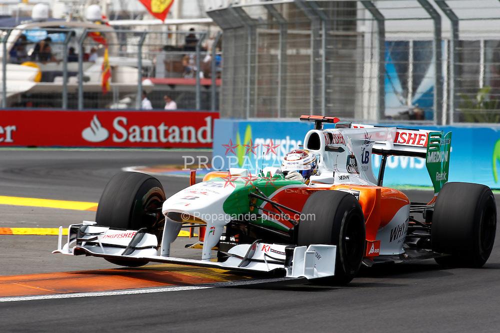 Motorsports / Formula 1: World Championship 2010, GP of Europe, 14 Adrian Sutil (GER, Force India F1 Team),
