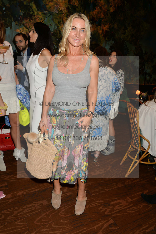 MEG MATHEWS at a tea party to launch Grace Guru held at Sketch, 9 Conduit Street, London on 17th June 2015.