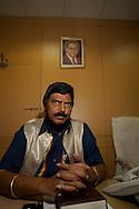 Ramdas Bandu Athawale, ledare f&ouml;r daliter och det indiska Republikanska Partiet. Bombay (Mumbai), Indien<br /> COPYRIGHT 2009 CHRISTINA SJ&Ouml;GREN<br /> ALL RIGHTS RESERVED