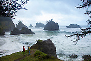 Secret beach,  Samuel Boardman Scenic Corridor, Oregon coast