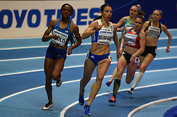 March 2, 2018 - Birmingham, Gangwon, United Kingdom - Maria Belimpasaki of Greece at 400 meter, heat 1, at World indoor Athletics Championship 2018, Birmingham, England on March 2, 2018. (Credit Image: © Ulrik Pedersen/NurPhoto via ZUMA Press)