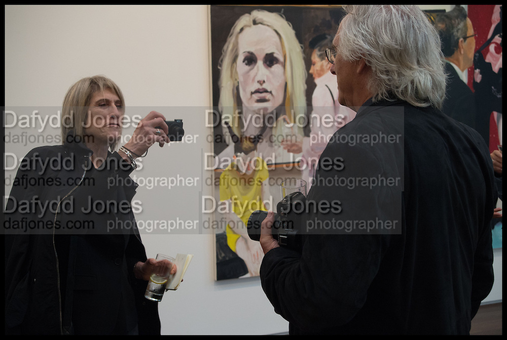GINNY NEEL; ERIC FISCHL, Eric Fischl, Art Fair paintings. pv. Victoria Miro Fine art. Wharf Rd. London. 13 October 2014.