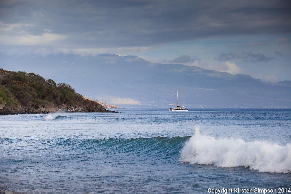 Surfing Olawalu