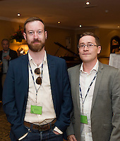 To celebrate 25 Years of MEDIA, The Creative Europe MEDIA Office Galway held the&nbsp;Creative Europe&nbsp;MEDIA Co-Production Dinner&nbsp;in Hotel Meyrick&nbsp;on Thursday the 7th of June as part of The&nbsp;Galway Film Fleadh.&nbsp;<br /> At the event was Eamonn Tutty - Reckoner productions<br /> and Alan Dunne - Reckoner Productions.<br /> <br /> The networking dinner gives Fleadh goers&nbsp;privileged access to the world's leading film Financiers and a fantastic&nbsp;opportunity to network with European Producers and Film Fair Financiers. &nbsp;Creative Europe MEDIA Office Galway offers comprehensive information on the European Union's Creative Europe Programme, offering advice, support and information on Creative Europe funding support for the audiovisual industries including film, television and games.&nbsp; The regional office is also available to respond to queries by phone or email.&nbsp; In addition to providing one-to-one advice sessions and events throughout the year. &nbsp;<br /> <br /> For further information contact Eibhl&iacute;n N&iacute; Mhunghaile on 091 770728 or via email on&nbsp;eibhlin@creativeeuropeireland.eu&nbsp;<br />  Photo: Andrew Downes XPOSURE