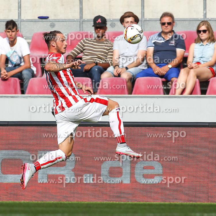 02.08.2015, Rhein Energie Stadion, Koeln, GER, Testspiel, Stoke City vs FC Porto, im Bild Marko Arnautovic (Stoke City FC #10) // during the International Friendly Football Match between Stoke City and FC Porto at the Rhein Energie Stadion in Koeln, Germany on 2015/08/02. EXPA Pictures &copy; 2015, PhotoCredit: EXPA/ Eibner-Pressefoto/ Schueler<br /> <br /> *****ATTENTION - OUT of GER*****