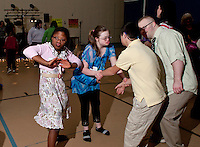 Down Syndrome Team holds a dance at the Gilford Community Center April 15, 2011.