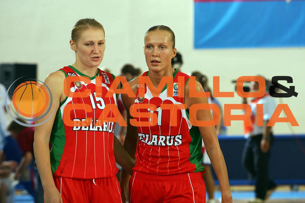 DESCRIZIONE : Ortona Italy Italia Eurobasket Women 2007 Russia Bielorussia Russia Belarus<br /> GIOCATORE : Marina Kress Yelena Leuchanka<br /> SQUADRA : Bielorussia Belarus<br /> EVENTO : Eurobasket Women 2007 Campionati Europei Donne 2007 <br /> GARA : Russia Bielorussia Russia Belarus<br /> DATA : 01/10/2007 <br /> CATEGORIA : ritratto<br /> SPORT : Pallacanestro <br /> AUTORE : Agenzia Ciamillo-Castoria/S.Silvestri <br /> Galleria : Eurobasket Women 2007 <br /> Fotonotizia : Ortona Italy Italia Eurobasket Women 2007 Russia Bielorussia Russia Belarus<br /> Predefinita :