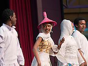ELL students perform dance from their African country of origin at Folklife Festival