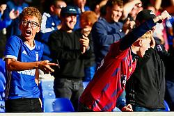 Ipswich Town fans celebrate - Mandatory by-line: Phil Chaplin/JMP - 28/09/2019 - FOOTBALL - Portman Road - Ipswich, England - Ipswich Town v Tranmere Rovers - Sky Bet Championship