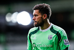 Ben Foster of West Brom looks on - Photo mandatory by-line: Rogan Thomson/JMP - 07966 386802 - 31/01/2015 - SPORT - FOOTBALL - West Bromwich, England - The Hawthorns - West Bromwich Albion v Tottenham Hotspur - Barclays Premier League.