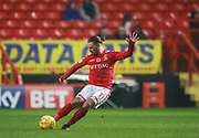 Charlton Athletic's Ricky Holmes during the EFL Sky Bet League 1 match between Charlton Athletic and Milton Keynes Dons at The Valley, London, England on 18 November 2017. Photo by John Marsh.