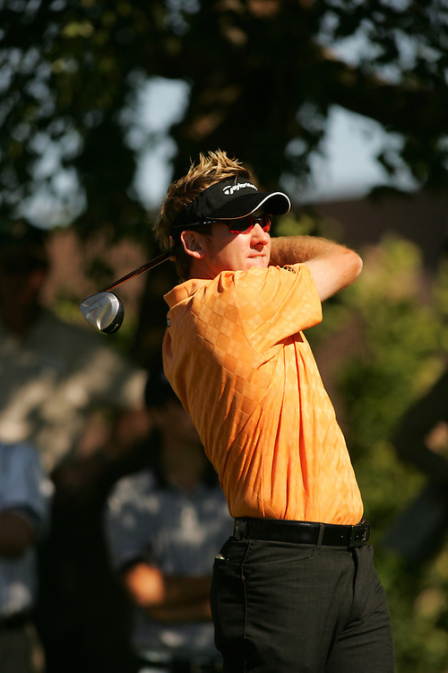 Ian Poulter..2005 Bob Hope Chrysler Classic.Arnold Palmer Course at PGA West.La Quinta, CA USA .January 30 2005.Final Round..Photograph by Darren Carroll