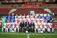 Equipe Brest - 08.09.2014 - Photo officielle Brest - Ligue 2 2014/2015<br /> Photo : Maxime Kerriou / Icon Sport
