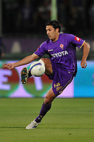 """Mario Alberto Santana (Fiorentina)<br /> Firenze 1/5/2008 Stadio """"Artemio Franchi"""" <br /> Uefa Cup 2007/2008 Semifinals - Semifinale second Leg<br /> Fiorentina Rangers Glasgow (0-0) (2-4 a.p.)<br /> Foto Andrea Staccioli Insidefoto"""