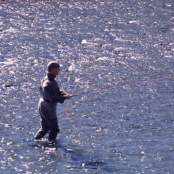 Fly-Fishing the Hoh River, Olympic Peninsula, US
