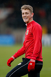 New loan signing George Saville of Bristol City looks on before the match - Photo mandatory by-line: Rogan Thomson/JMP - 07966 386802 - 17/01/2015 - SPORT - FOOTBALL - Scunthorpe, England - Glanford Park - Scunthorpe United v Bristol City - Sky Bet League 1.