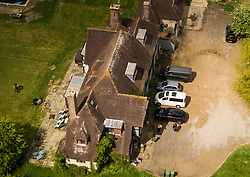The sprawling home of Katie Price near Horsham in West Sussex. Horsham, West Sussex May 10 2019.