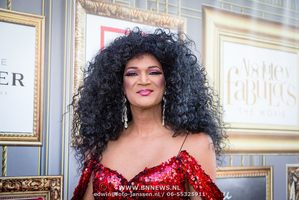 NLD/Amsterdam/20160713 - Premiere Absolutely Fabulous, Dutch Diana Ross