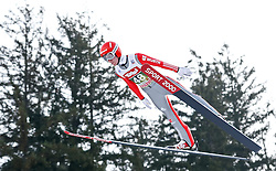 03.01.2015, Bergisel Schanze, Innsbruck, AUT, FIS Ski Sprung Weltcup, 63. Vierschanzentournee, Training, im Bild Stephan Layhe (GER) // Stephan Leyhe of Germany in action during Trial Jump of 63 rd Four Hills Tournament of FIS Ski Jumping World Cup at the Bergisel Schanze, Innsbruck, Austria on 2015/01/03. EXPA Pictures © 2015, PhotoCredit: EXPA/ Peter Rinderer